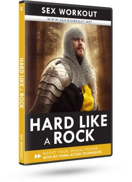 Hard like a rock <span>Get hard like a rock</span>